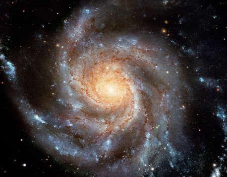 Ce disque spirale géant d'étoiles Banque d'images