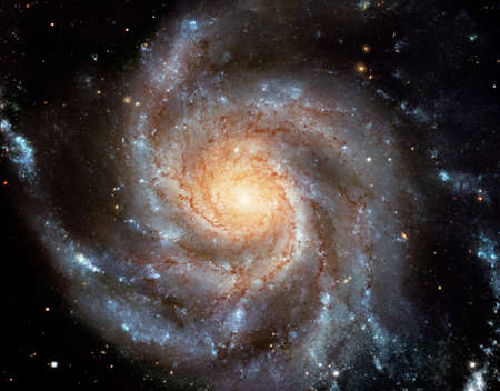 This giant spiral disk of stars photo