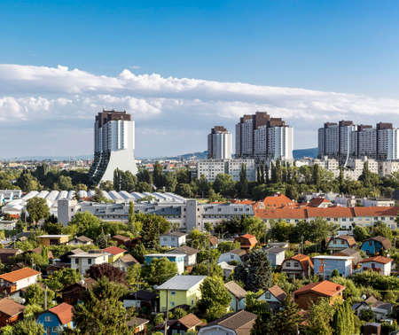 flagship: The residential complexes Alt-Erlaa. It is a city within the city of Vienna with a complete infrastructure. The complexe is one of the largest in Austria and a flagship project of the 1970s.