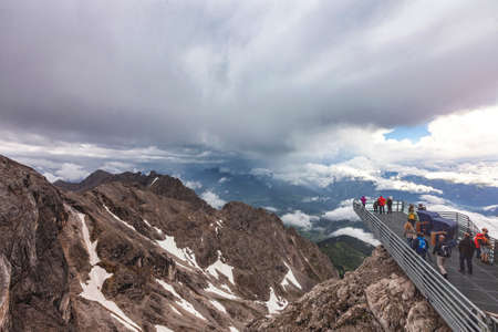 Skywalk at Hunerkogel Dachstein Austria.