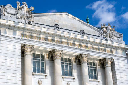 The historic Technical Museum of Vienna opened in 1918. Build under the regency of Franz Joseph I Emperor of Austria.