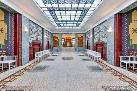 The Amalienbad is a well known municipal indoor swimming pool in Vienna. It was built in the years 1923 to 1926 and was at that time the largest and most modern bathhouse in Central Europe