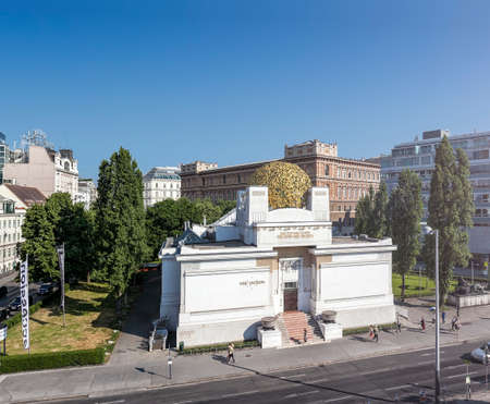 Secession Building, an Exhibition Hall for Contemporary Art, Vienna, Austria.