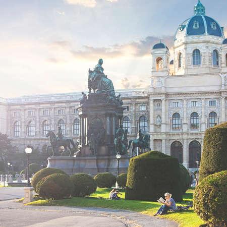 The Kunsthistorisches Museum (English Museum of Art History) of Vienna - Austria Editorial