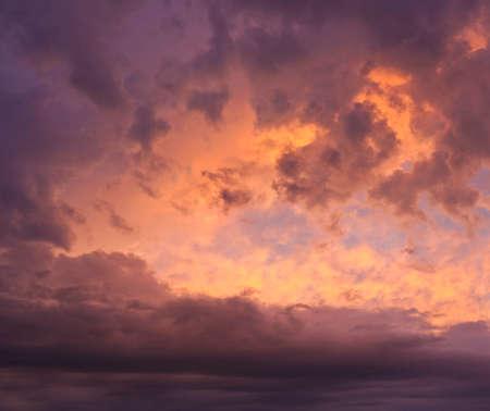 Super dramatic sky Stock Photo - 119551426