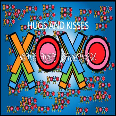 xoxo: HUGS AND KISSES XOX Illustration