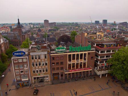 De naoorlogse Oostzijde van de Grote Markt in Groningen sterven binnenkort alle specificaties zAL Maken VOOR Het Groninger Forum