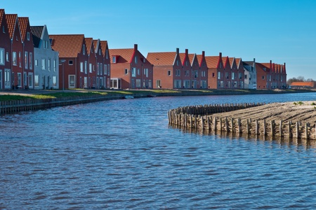 Newly built homes in project Meerstad in the Netherlands unless financial crisis Stock Photo - 13336756