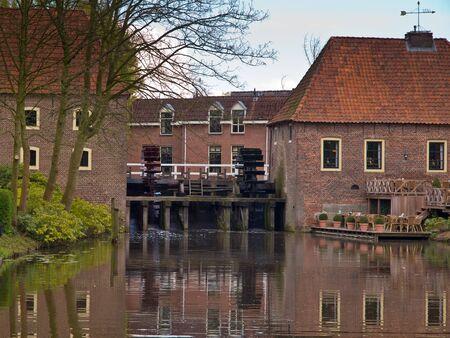 molino de agua: Molino de agua de Europa como una atracción turística