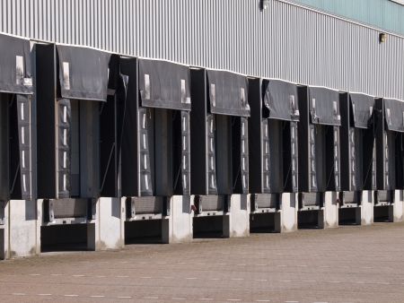 Empty Loading Docks as a Symbol for Falling Export Sales photo