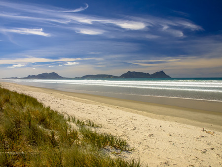 cove: Secluded Empty Beach in Northland, New Zealand