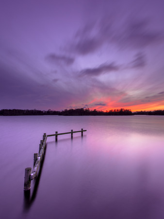 enlightment: Conceptual Mood Concept Colorful Sunset