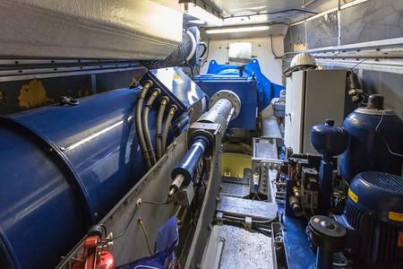 Réparation essieu et Générateur dans le logement d'une éolienne Banque d'images - 28676415
