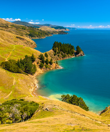 View over Current Basin near French Pass, Marlborough Sounds