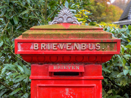 Red Vintage Box Mail