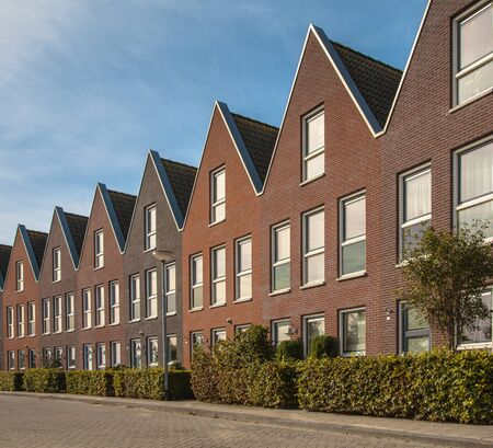 terraced: Modern Middle Class Real Estate on the Real Estate Market in the Netherlands