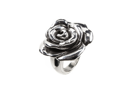 rose ring: Rose ring isolated on white background