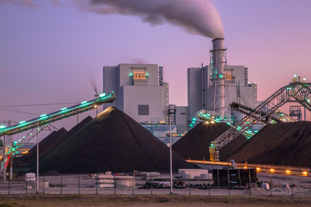 Coal used to play a vital role in electricity generation worldwide. Altough modern plants are much more efficient than before, it is a very polluting form of electricity.
