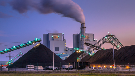 For a long time Coal powered plants played a vital role in electricity generation worldwide. Altough modern plants are much more efficient than before, it is not a clean form of electricity.