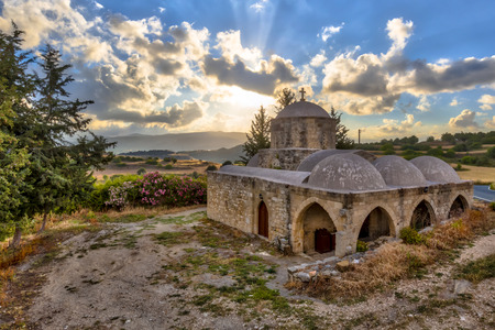 Greek orthodox Church in rural area of Paphos region, Cyprus