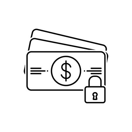 Payment protection icon Stok Fotoğraf - 123454350
