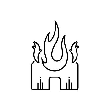 Explosion fire icon