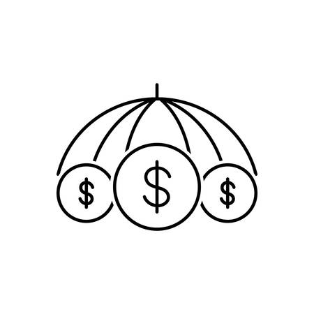Business insurance icon