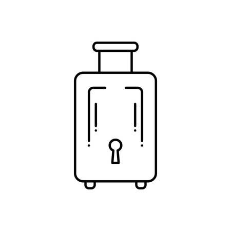 Luggage  insurance icon