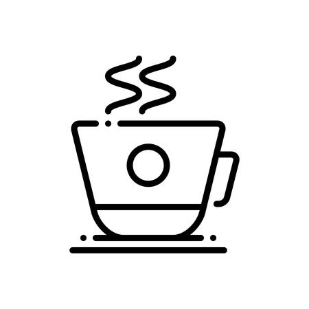 Coffee cup icon Çizim
