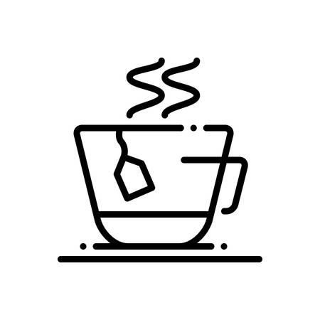 Tea bag icon  イラスト・ベクター素材