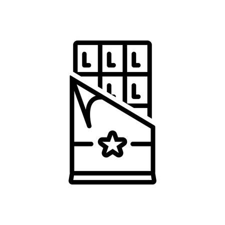 Chocolate bar  icon