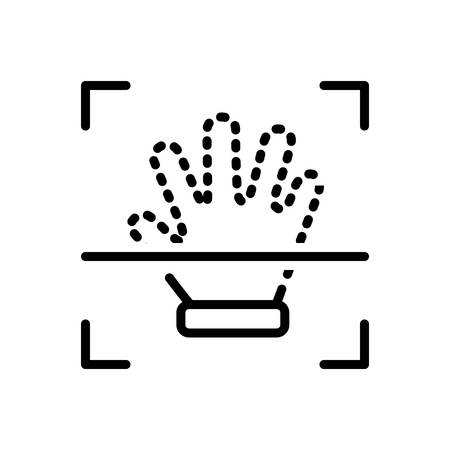 Handprint icon