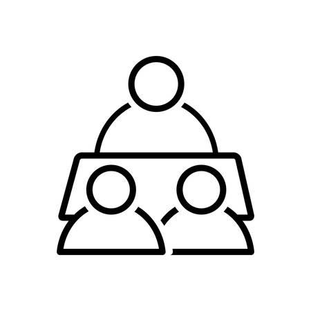 Conference icon Ilustração