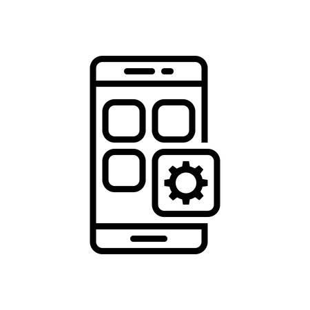 Mobil app  icon