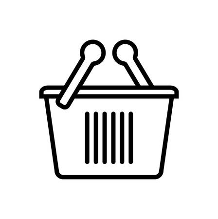 Basket icon Ilustração