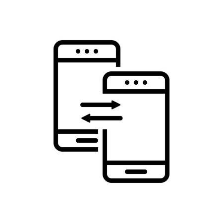 Transfer app icon