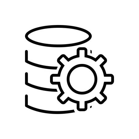 Data setting 向量圖像