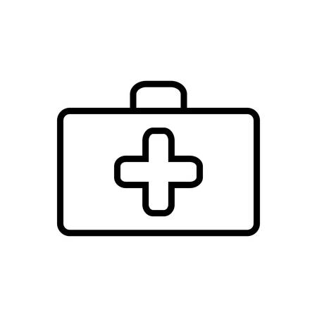 First aid box icon Banque d'images - 123561889