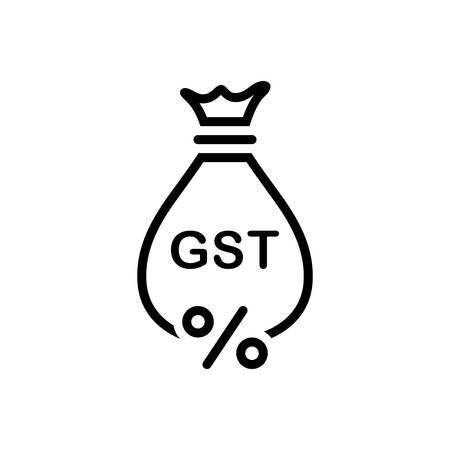 Icon for gst, exemption