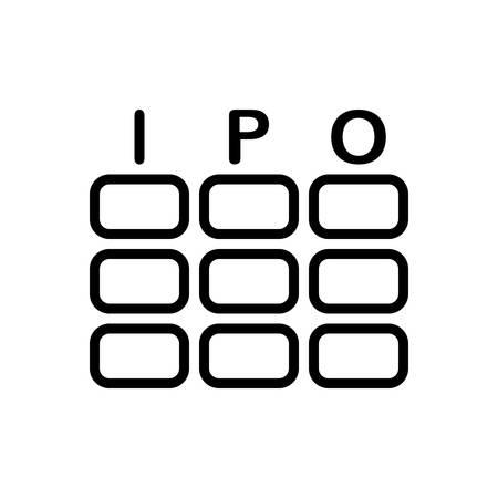 Icon for ipo, fund