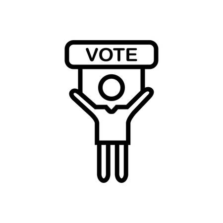 Icon for vote ,election