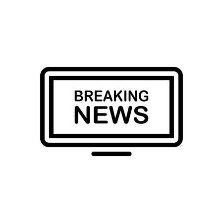 Icon for news ,breaking Ilustrace