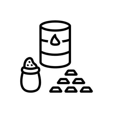 Icon for commodities, trade