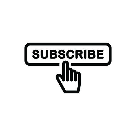 Subscribe icon Vectores