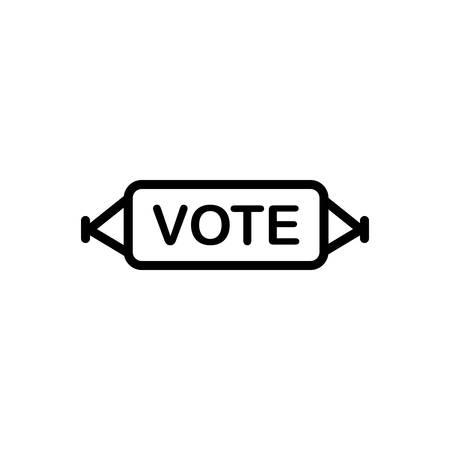 Vote banner icon