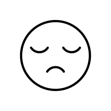 Sleepy icon Ilustração