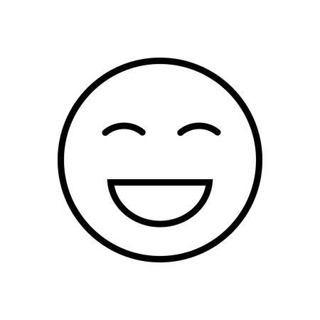 Laugh icon Vectores