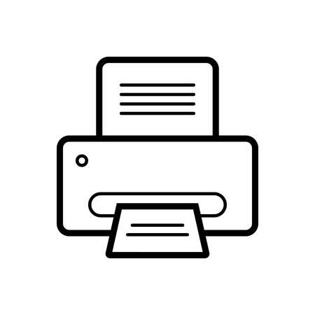 Printer icon Ilustracja