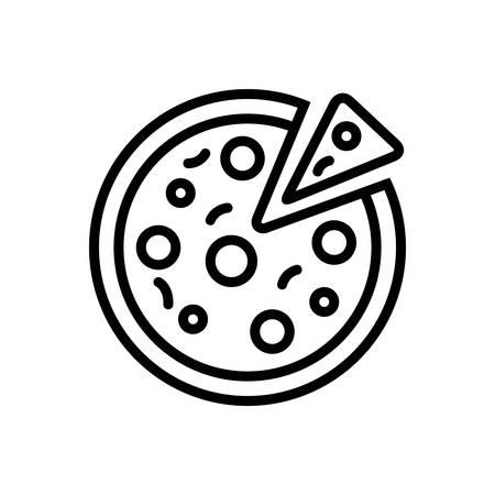 Pizza icon Ilustracja