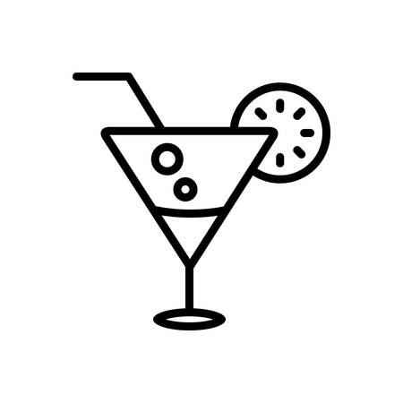 Cocktail lime icon